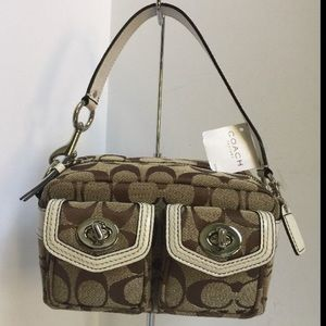 Coach Signature Gallery Double Pocket Pouch FS1751